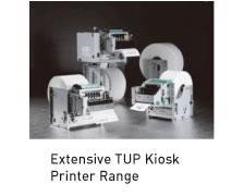 Extensive TUP Kiosk Printer Range