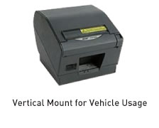 Vertical Mount for Vehicle Usage