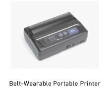 Belt-Wearable Portable Printer