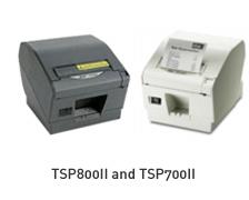 TSP800II and TSP700II