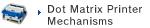 Dot Matrix Printer Mechanisms