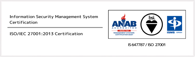 Information Security Management System Certification