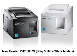 Release of wireless LAN thermal printer model best for mobile POS