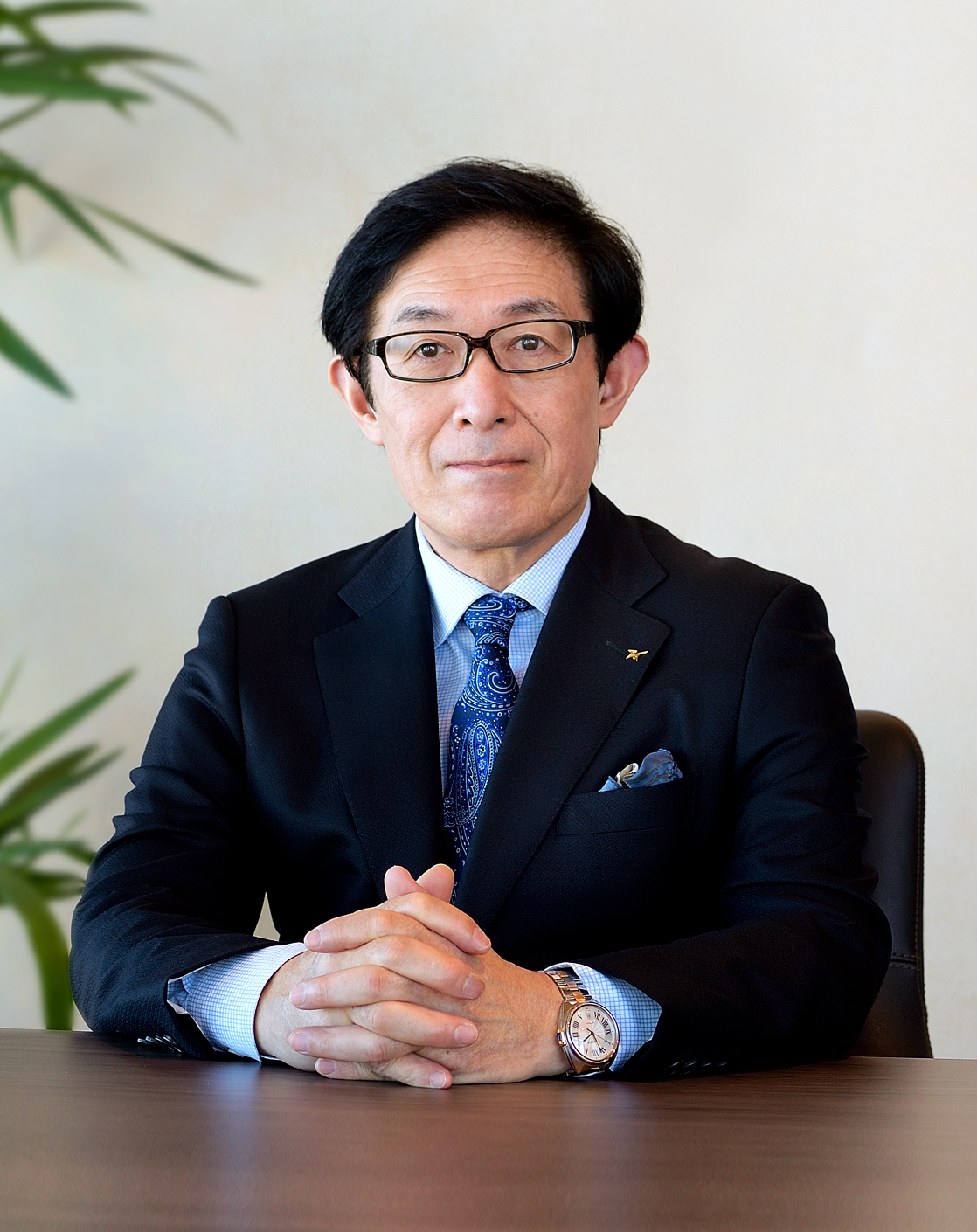 Representative Director, President and CEO Mamoru Sato