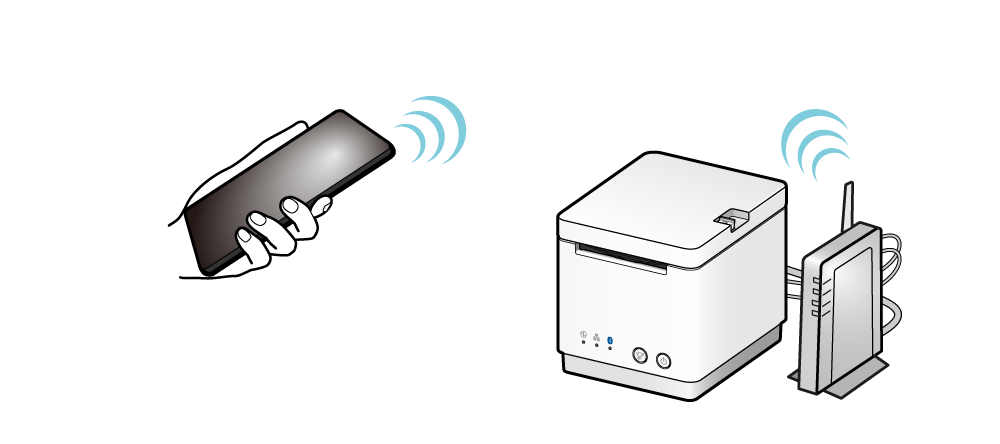 how to connect ipad and printer to same network
