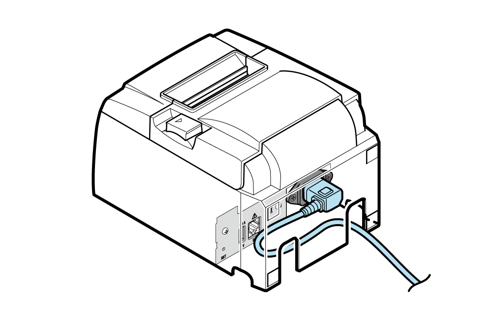 Connect Power Cable Tsp100iiibi Online Manual