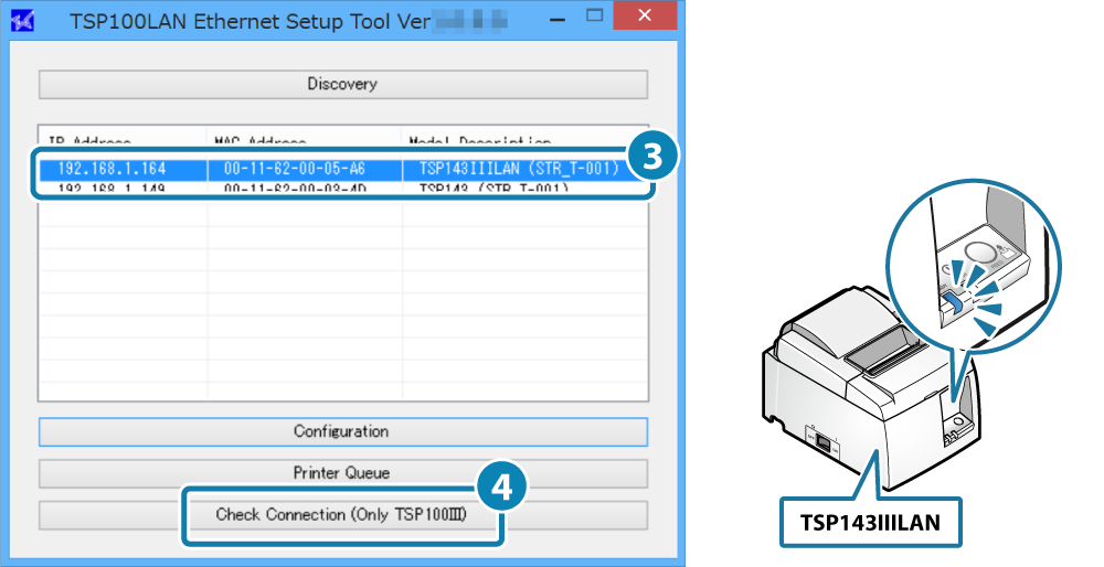 Connect Tablet/PC: TSP100IIILAN Online Manual